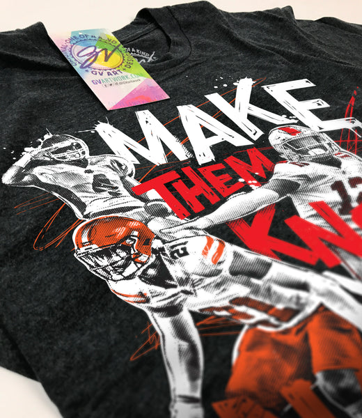 Denzel Ward Make Them Know Your Name T shirt