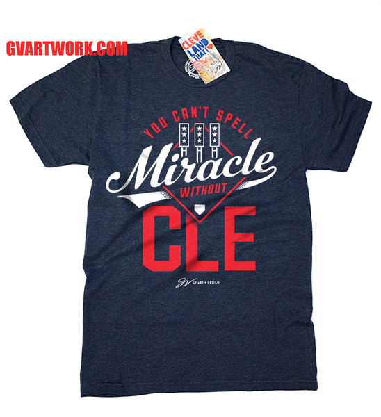 You Can't Spell Miracle Without CLE Baseball Edition