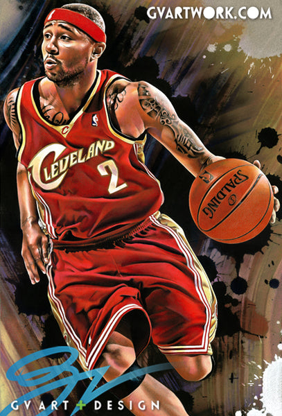 Mo Williams Limited edition hand embellished original giclee