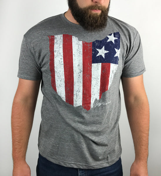OHIO USA T shirt
