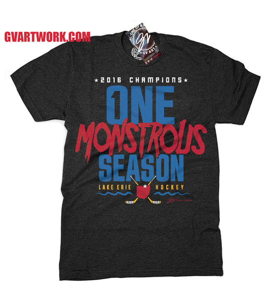 2016 Champions Shirt ONE Monstrous Season