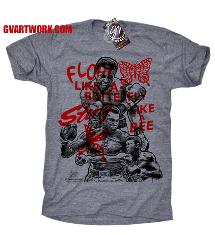 Muhammad Ali One of a Kind Limited Edition Etch T shirt