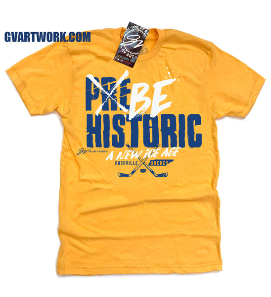 BE HISTORIC Nashville Hockey T shirt