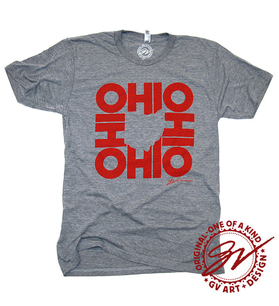 All In Ohio T shirt