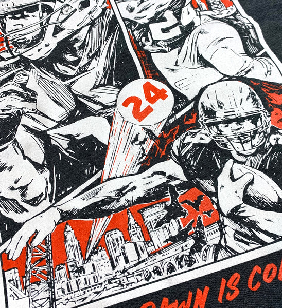 "Nick Chubb ""The Dawn Is Coming"" T shirt"