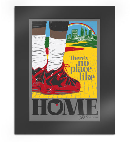 Limited Edition There's No Place Like Home Artwork Print