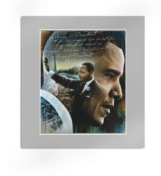Obama MLK Artwork