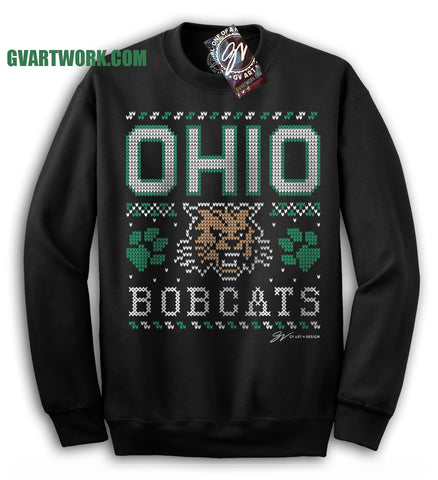 OHIO Bobcats - The not so Ugly - Ugly Sweater