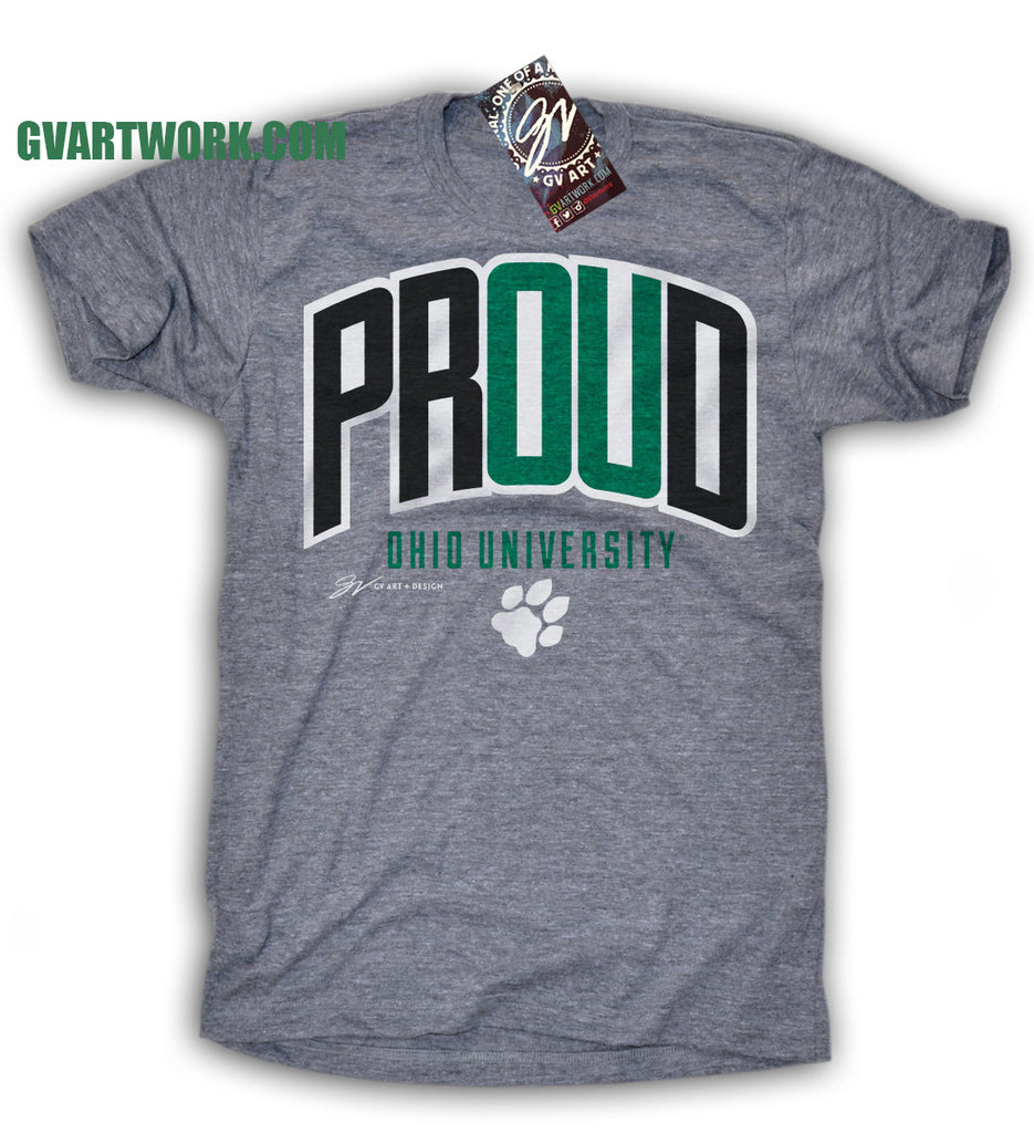 Ohio university proud t shirt gv art and design for Architecture student t shirts