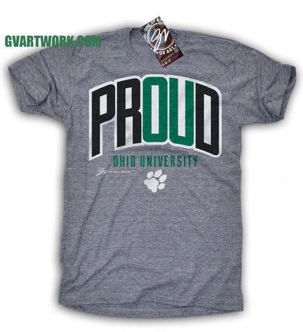 Ohio University PROUD T shirt