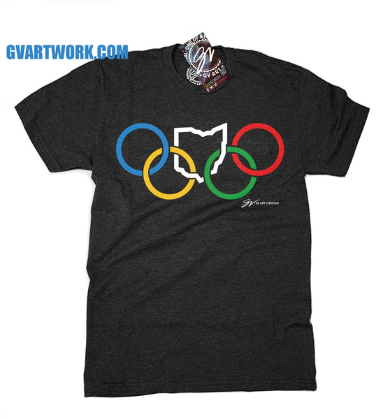 OHIO Olympic Rings T shirt