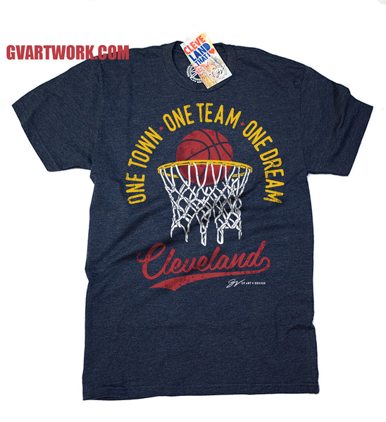 Cleveland - One Town, One Team, One Dream - Playoff Shirt