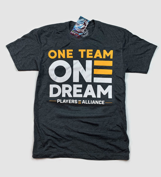 One Team One Dream - Players Alliance T shirt