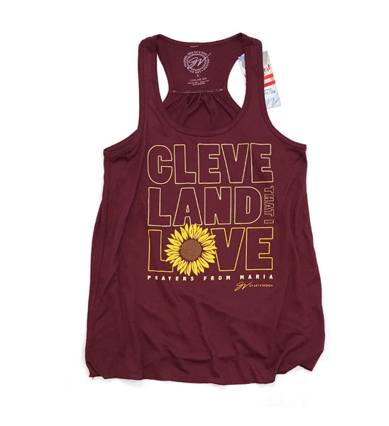 Womens Prayers From Maria Cleveland That I Love Flowy Tank