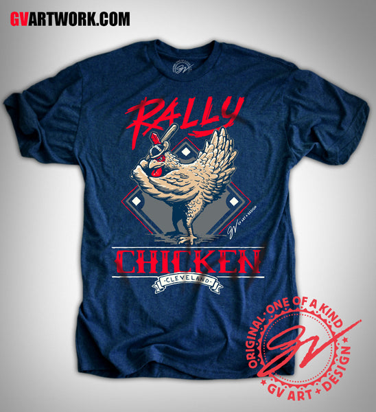 Cleveland Rally Chicken T shirt