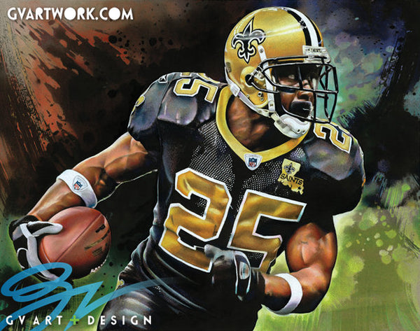 Reggie Bush Artwork