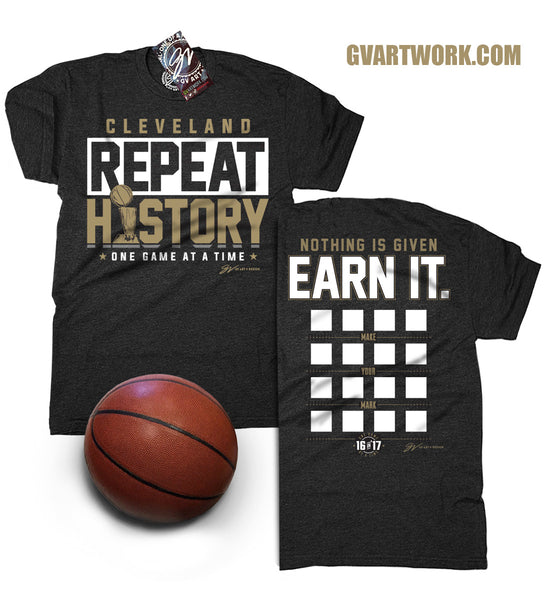 Repeat History - One Game at a Time T shirt