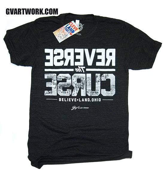 Cleveland Reverse The Curse T shirt