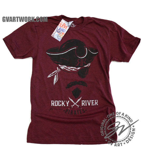 Rocky River Pirates T shirt