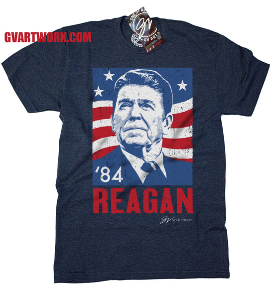 Ronald Reagan '84 T shirt