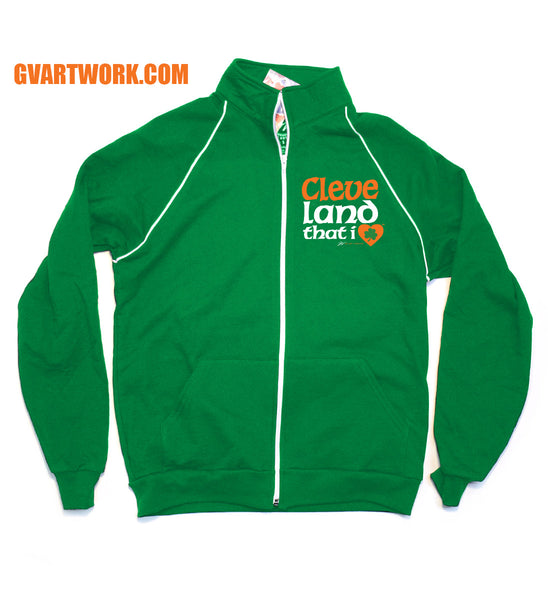 Cleveland ShamRock and Roll City Track Jacket - Online Exclusive