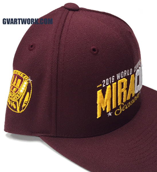 2016 World Champions MiraCLE Season Snap Back Hat