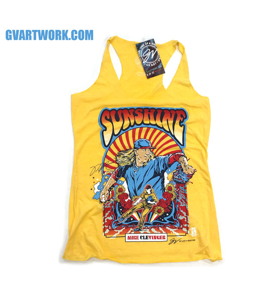 Sunshine Mike Clevinger Racerback Tank Top