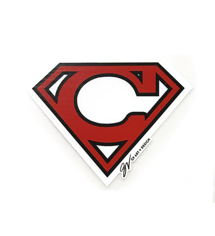 Super C Cleveland Window Decal
