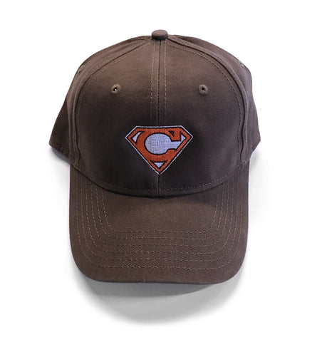 Cleveland Super C Structured Dad Hat - Brown