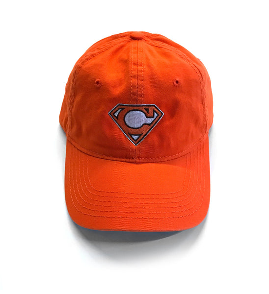 Cleveland Super C Dad Hat - Orange