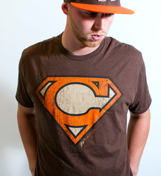 Cleveland-Super C Orange and Brown Edition