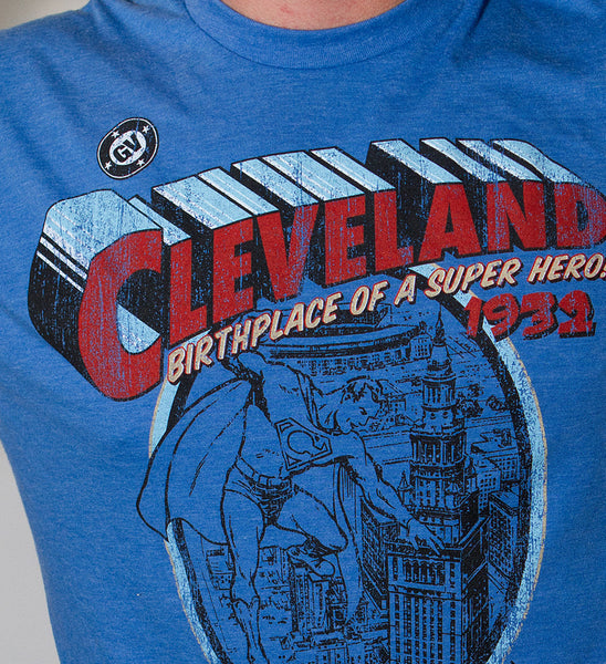Cleveland - Birthplace of  Superhero T shirt