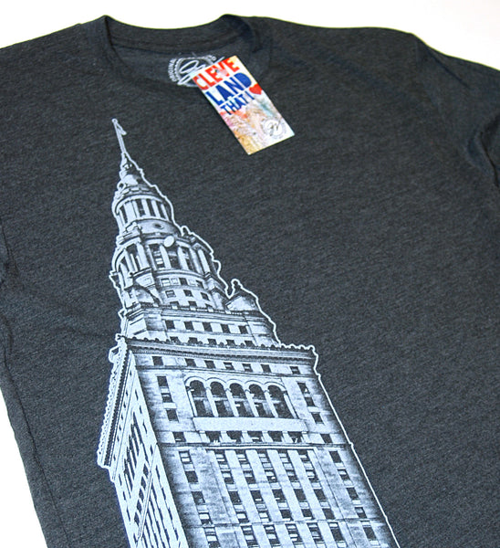 Bold New Terminal Tower Graphic Tee