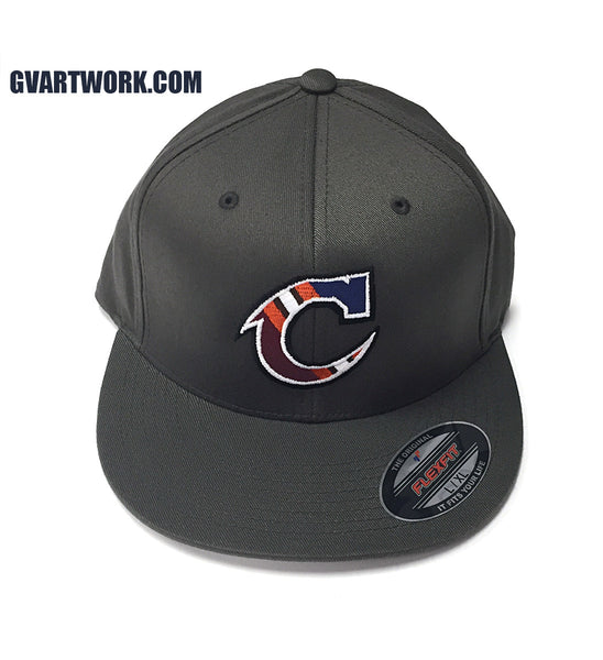 Flex Fit Team Cleveland C Hat Dark Grey