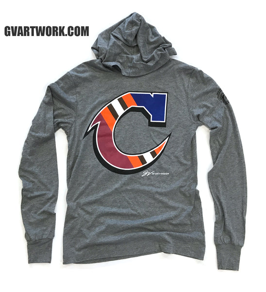Team C Long Sleeve Hooded T Shirt