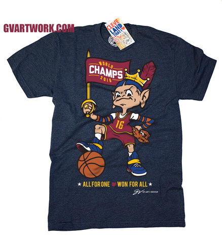 Team Cleveland Won For All World Champions T shirt