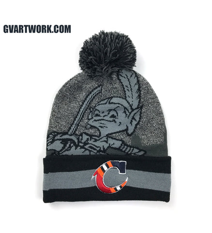 Team Cleveland Custom Knit Winter Hat