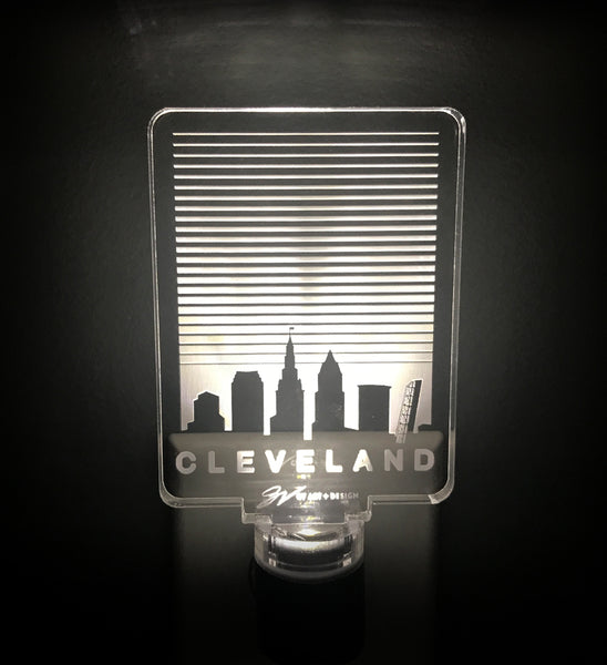 Cleveland SkyLines Night Light