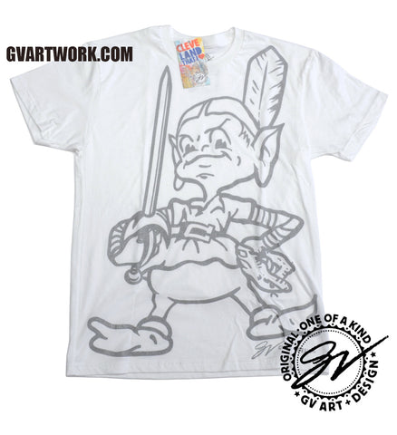 Team Cleveland Limited Edition White and Silver T-Shirt