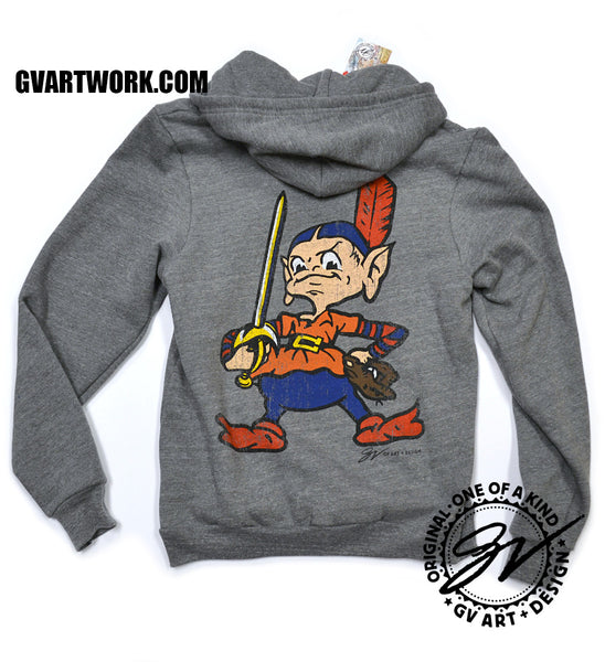 Zip Up Team CLEVELAND Hooded Sweatshirt