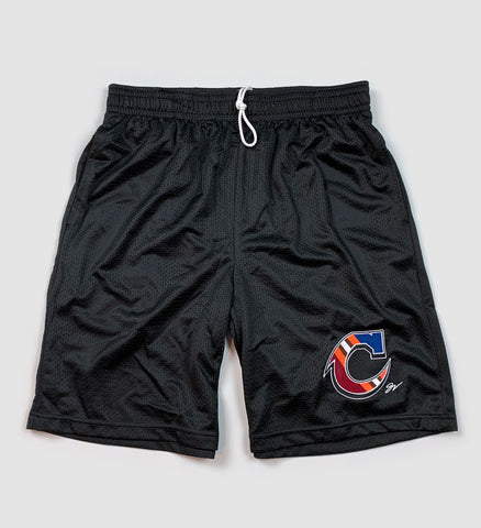 Team Cleveland C Mesh Shorts with Pockets