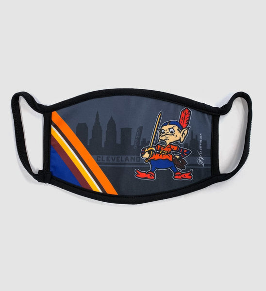 Team Cleveland Skyline Mask
