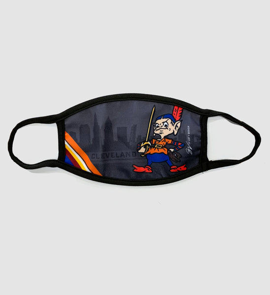 New Team Cleveland Skyline Mask