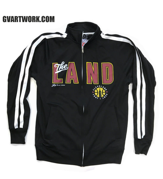 """The Land"" Striped Track Jacket"