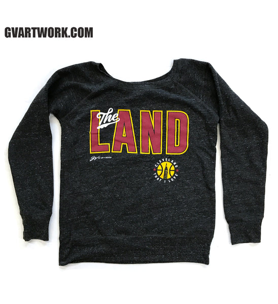 "Women's ""The Land"" Drop Shoulder Fleece"