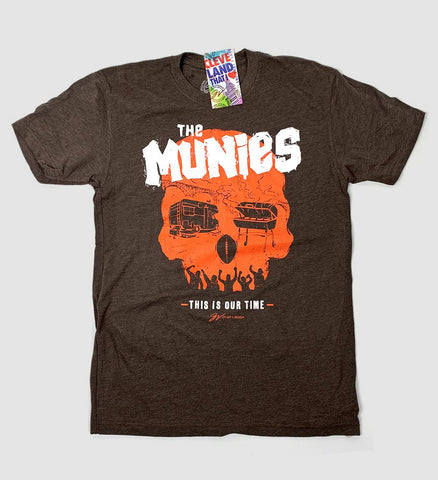 """The Munies"" Cleveland Football T shirt"