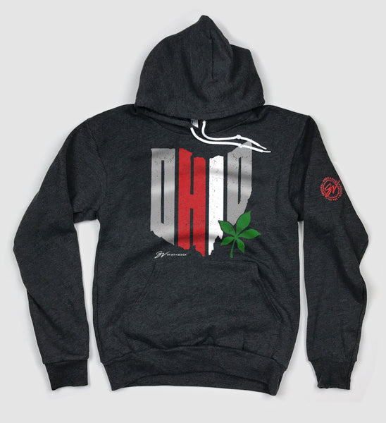 The State of OH-IO Hooded Sweatshirt