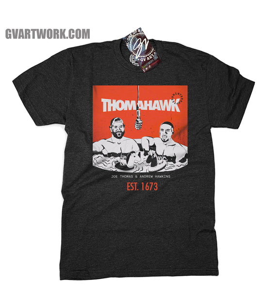 Official ThomaHawk Podcast T shirt