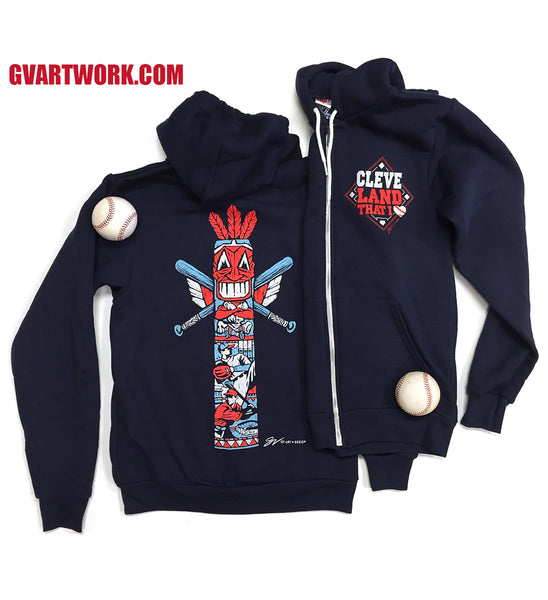 Special Edition Totem Pole Zip Up Sweatshirt