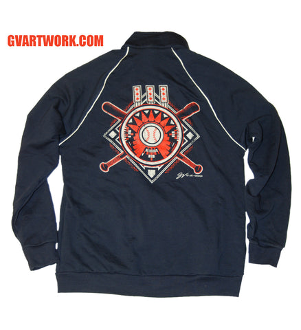 Cleveland Baseball Tribal Track Jacket